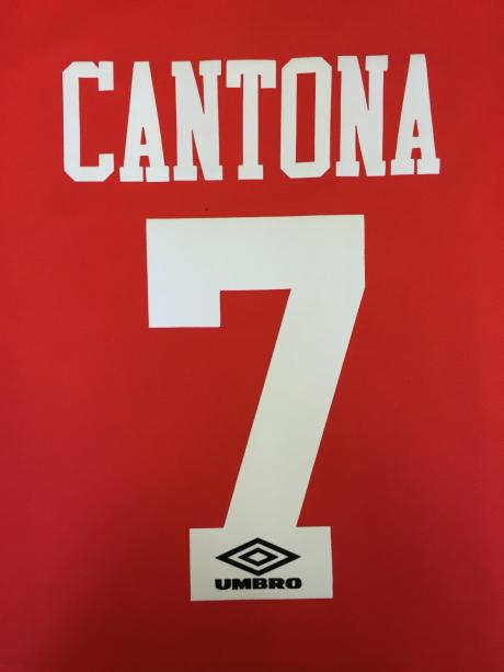 Man Utd Retro name and number set